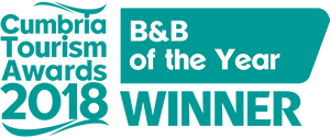 cumbria tourism awards 2018 | B&B of the year winner
